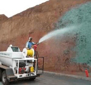 roadside hydroseeding