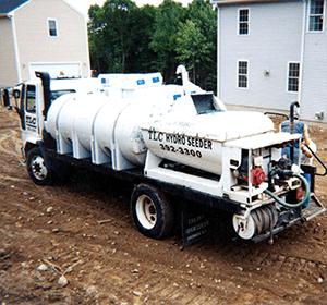 high capacity hydroseeder turfmaker