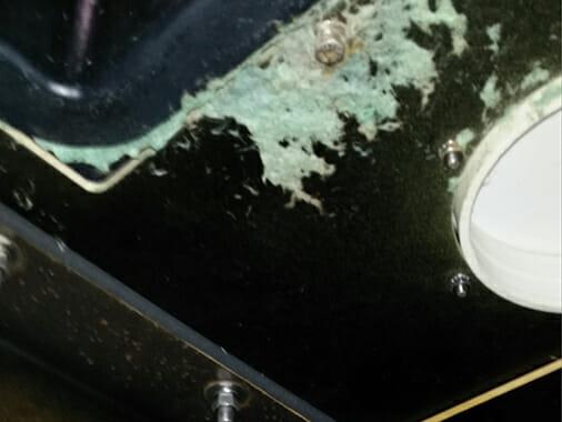 dirty bowie hydro-mulcher tank